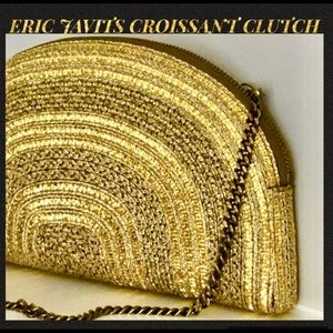 BE STYLISH WITH THIS ERIC JAVITS CROISSANT CLUTCH